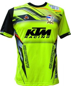 Maillot 40 Minute Jaune Fluo 2017